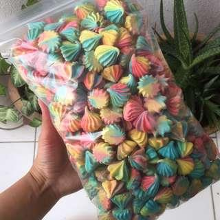 Meringue kisses vanilla 450pcs