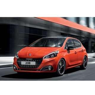 NEW CAR PEUGEOT 208 PURETECH