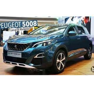 NEW CAR PEUGEOT 5008 SUV