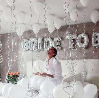 ★Bridal Shower Balloons / Bride to be 單身派對