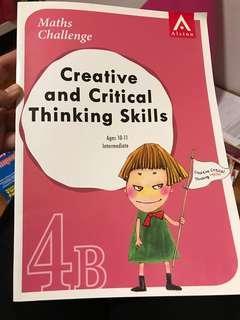 🚚 Creative & Critical Thinking Skills Math