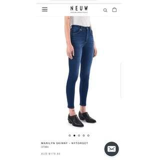 Neuw Denim Marilyn Skinny Jeans Size 24