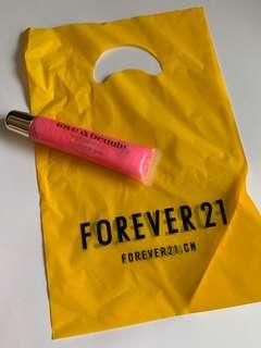 🚚 Forever21 粉紅唇蜜