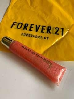 🚚 Forever21嫩紅色唇蜜