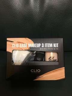 韓牌CLIO base make up 3 items kit