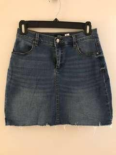 BDG denim skirt