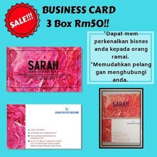 Business Card 3 box