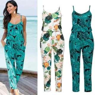 🚚 [PO] EurAmerica Floral Strap Jumpsuit (18)