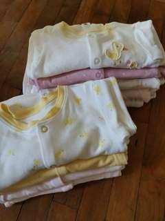 🚚 Baby Mothercare sleepsuit pajamas romper bodysuit 6m to 9m