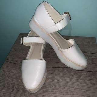 Vincci Heel Flats Slip On Korean Style