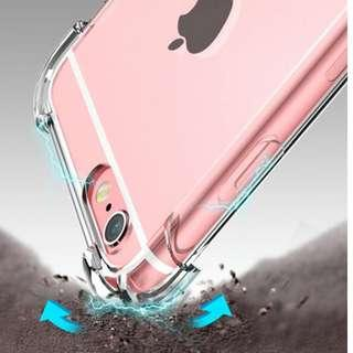 Transparent Clear case Shockproof for iPhone