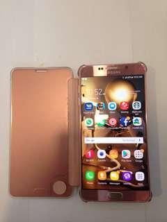 Samsung note 5 64gb pink korea set