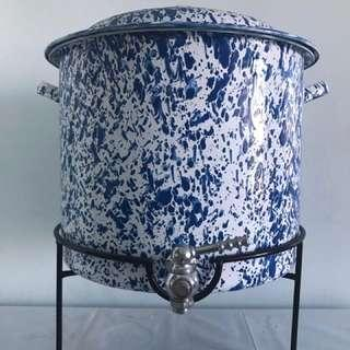 14公升美國藍色大理石琺瑯派對壺