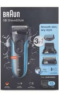 🚚 Braun Shave & Style kit 3010BT Wet & Dry