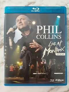Prelived Bluray Disc Original Music Movie Phil Collins Live at Montreux 2004