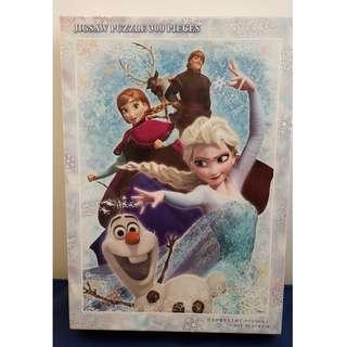300 pcs Disney Frozen Elsa and Anna Jigsaw Puzzle, New, Size 30.5 x 43 cm