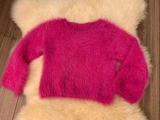 🚚 粉紅保暖毛衣