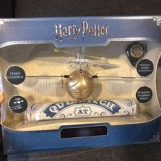 Harry Potter golden snitch drone