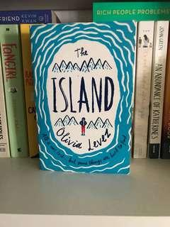 🚚 young adult books: the island by olivia levez