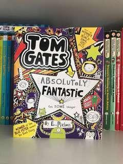 children books: tom gates absolutely fantastic by L.Pichon