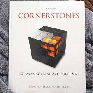 Cornerstones of Managerial Accounting 6th Edition