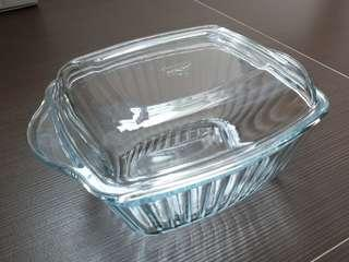 Glass Casserole with Lid Cover (1 Litre)