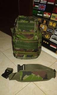 Tas slempang 803,tas tactical,tas army