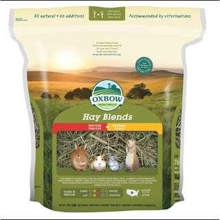 Oxbow Hay Blends (Timothy + Orchard grass) for Guinea pig, rabbit, chinchilla