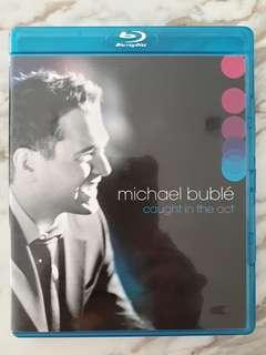 Preloved Bluray Disc Original Music Movie Michael Buble Caught in the Act
