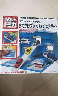 🚚 Tomica Portable Town Carry Bag Airport