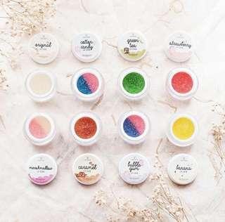 Liplapin Lip Scrub All Variant, Scrub Bibir Natural, Sugar Scrub, Scrub Bibir Popular, Promo Liplapin Original, Kecantikan Bibir, Kesehatan Bibir
