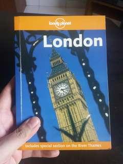 Lonely planet - london ( travel guide book)