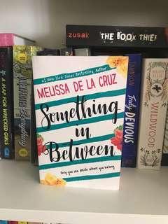 🚚 young adult books: something in between by melissa de la cruz