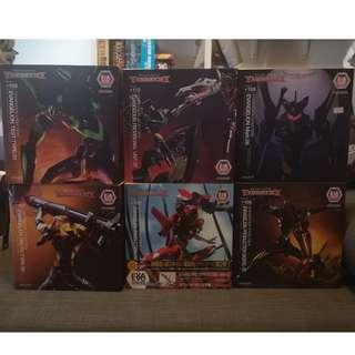 Revoltech EVA EVO Series Set of 6 (See Description)