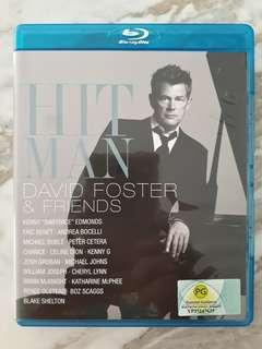 Preloved Bluray Disc Original Music Movie Hit Man David Foster & Friends