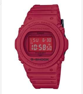Casio G-SHOCK 35th anniversary RED-OUT