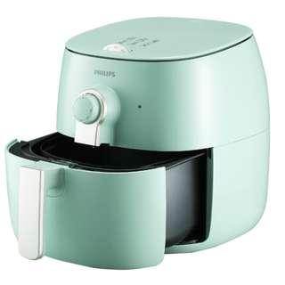 Philips TWIN Turbostar Airfryer HD9723 Free Grill Pan and Basket/pot