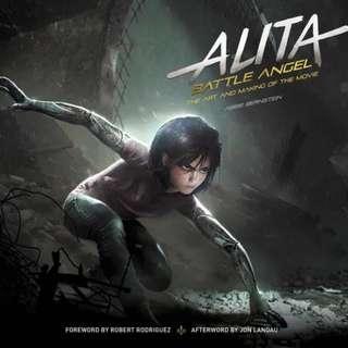 Alita - Battle Angel: The Art and Making of the Movie 《艾莉塔:戰鬥天使》電影美術設定集