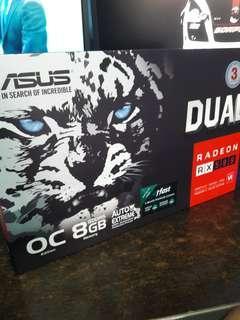 🚚 Asus RX580 Dual OC 8GB DDR5