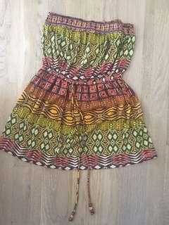 Size small strapless dress excellent condition