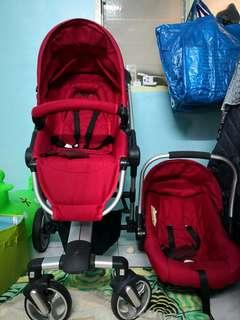 Combo Halford Zuzz 4 Stroller & Baby Carrier