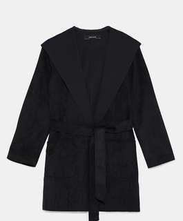 Zara XS Black Jacket (new with tags)