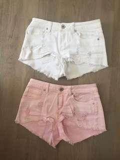 Size 8 , 2 pairs of shorts, $5!!!