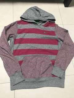 b0f68e9c956b  0704 vintage authentic pink stripes nike hoodie