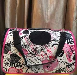 [M Size] Pink Rock n Roll Pets Carrier