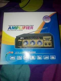 AMPLIFIER MP3 DI GITAL PLAYER