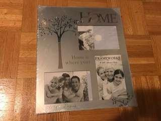 Glass family frame