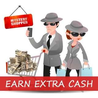 $30 for 30mins HIGH PAY MYSTERY SHOPPER! Limited slots!