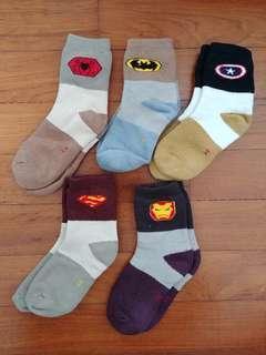 🚚 Superhero Winter Socks (5 pairs)