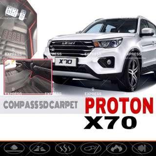 Proton X70 OEM 5D Carpet